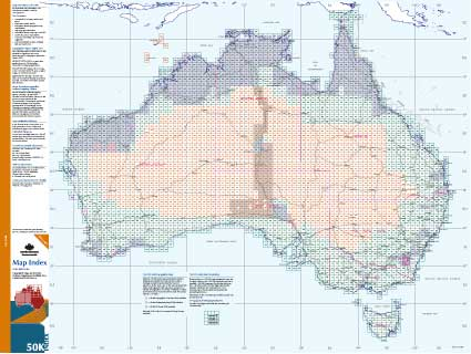Australia Topographic Maps - 1:50 000 scale :: Online Map ...